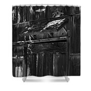 Rustic Shed 3 Shower Curtain
