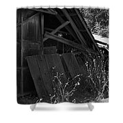 Rustic Shed 4 Shower Curtain