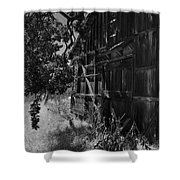 Rustic Shed 5 Shower Curtain