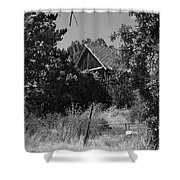 Rustic Shed 7 Shower Curtain