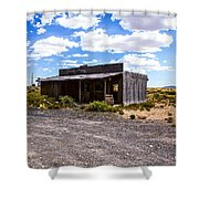Rustic Store Shower Curtain