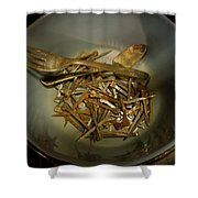 Rustic Tools Shower Curtain