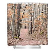 Rustic Trails In January 2013 Shower Curtain