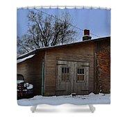 Rustic Weatherd Old Beauties Shower Curtain