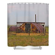 Rusty And Dusty Shower Curtain