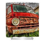 Rusty Dodge Shower Curtain