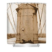 Rusty Door Shower Curtain