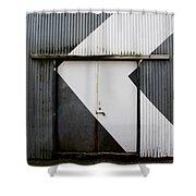 Rusty Door- Photography Shower Curtain