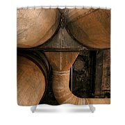 Rusty Dust Collectors 1 Shower Curtain