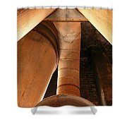 Industrial Vacuum  Shower Curtain