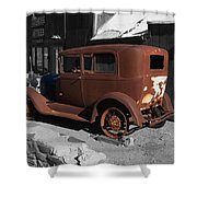 Rusty Ford Shower Curtain