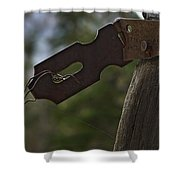 Rusty Hasp   #0005 Shower Curtain