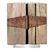 Rusty Hinge Shower Curtain
