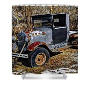 Rusty Model Aa Ford Shower Curtain