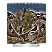 Rusty Old American Dreams - 2 Shower Curtain