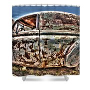 Rusty Old American Dreams - 4 Shower Curtain