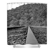 Rusty Rail Shower Curtain