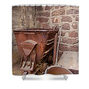 Rusty Ruins In Jerome Arizona Shower Curtain