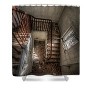 Rusty Stairs Shower Curtain
