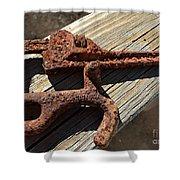 Rusty Tools II Shower Curtain
