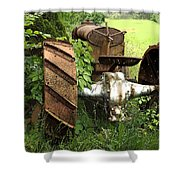 Rusty Tractor 1  Shower Curtain