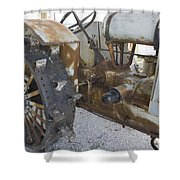 Rusty Tractor Shower Curtain