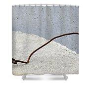 Rusty Twisted Metal II Shower Curtain