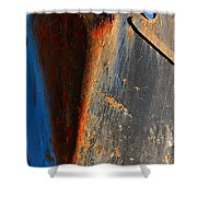 Rusty Vee Shower Curtain