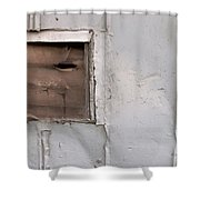 Rusty Vent Face Shower Curtain