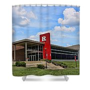 Rutgers Visitor Center Shower Curtain