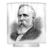 Rutherford B Shower Curtain