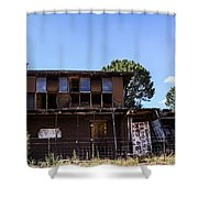 Rv Camprground Shower Curtain