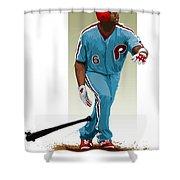 Ryan Howard Shower Curtain