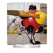 Ryan Pt-22 Recruit Shower Curtain by Michelle Calkins