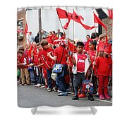 Rye Olympic Torch Relay Shower Curtain