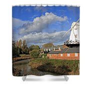 Rye Windmill Shower Curtain