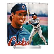 Ryne Sandberg Shower Curtain