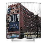 S Klien On The Square Shower Curtain