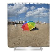 Sa Place Au Soleil / One's Place In The Sun Shower Curtain