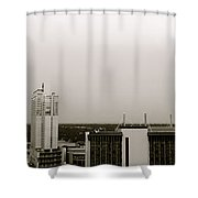 Sa Skyline 001 Shower Curtain