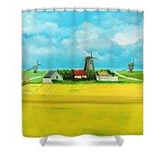 Saaremaa Island Estonia Shower Curtain