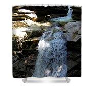 Sabbaday Falls New Hampshire Shower Curtain