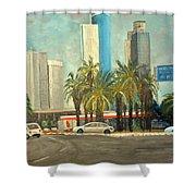 Sabidor Tel Aviv  Shower Curtain
