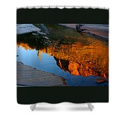 Sabino Canyon Reflection Shower Curtain