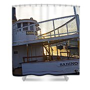 Sabino Sunset Shower Curtain