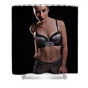 Sabrina1 Shower Curtain by Yhun Suarez