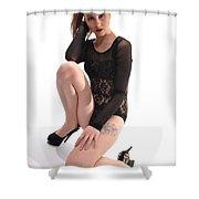 Sabrina13 Shower Curtain
