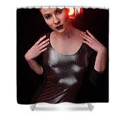 Sabrina14 Shower Curtain by Yhun Suarez