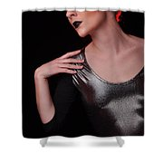 Sabrina8 Shower Curtain by Yhun Suarez