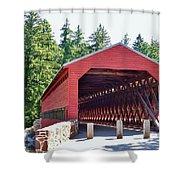 Sachs Covered Bridge 4 Shower Curtain